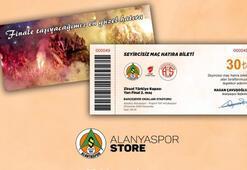 Alanyaspordan kupa maçında hatıra bilet uygulaması