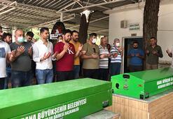 Adanada kaza kurbanı çift son yolculuklarına uğurlandı