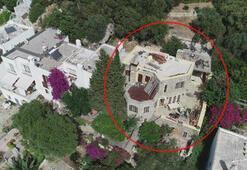 Can Dündarın villasındaki kaçak bölümlerin yıkımında 7nci gün