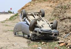 Kulada 500 metre ara ile iki ayrı kaza: 4 yaralı
