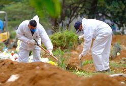 Son dakika... Brezilya corona virüsle kavruluyor Bir günde 1274 ölüm