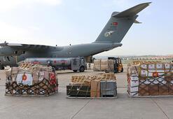 Türkiyeden Afganistana tıbbi malzeme yardımı