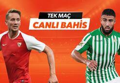 Sevilla - Real Betis maçı Tek Maç ve Canlı Bahis seçenekleriyle Misli.com'da