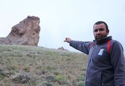 İnanılmaz Köylüler tesadüfen buldu, dev kayanın altında...