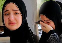 Anlatırken gözyaşlarına engel olamadı Gece evin önündeki yatakta uyurken...