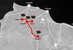 Son dakika... Haftere bir darbe daha Libyada çember daralıyor