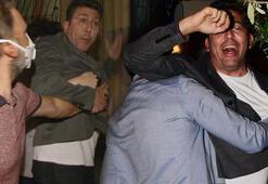 Emre Kınay muhabire saldırdı Herkes sokağa döküldü
