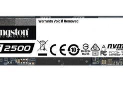 Kingston, 2TB kapasiteli KC2500 NVMe PCIe SSD'sini piyasaya sürüyor