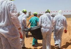 Libyada bir arazide toplu mezar bulundu