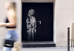 Banksy'nin çalınan eseri İtalya'da bulundu