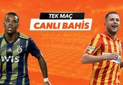 Fenerbahçe - Kayserispor maçı canlı bahis heyacanı Misli.comda