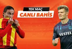 Göztepe - Trabzonspor canlı bahis heyecanı Misli.comda