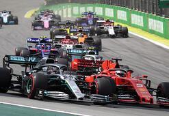 Formula 1de 3 yarış iptal edildi