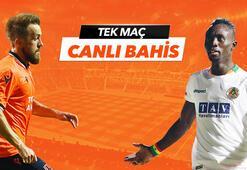 Başakşehir - Alanyaspor maçı Tek Maç ve Canlı Bahis seçenekleriyle Misli.com'da