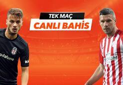 Beşiktaş - Antalyaspor maçının heyecanı Tek Maç ve Canlı Bahis seçenekleriyle Misli.com'da