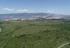 Yerli otomobilin üretileceği fabrikanın kurulacağı alan havadan görüntülendi