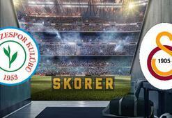 Çaykur Rizespor-Galatasaray maçına geri sayılıyor Maç saat kaçta, hangi kanalda