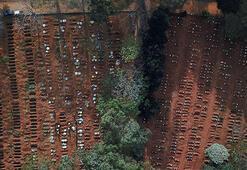 Son dakika... Brezilyada son 24 saatte corona virüs nedeniyle 892 kişi hayatını kaybetti