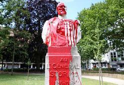 Belçikada sömürgeci geçmişi hatırlatan heykel ve büstlere saldırılar devam ediyor