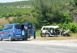 Balıkesirde katliam gibi kaza 6 kişi öldü