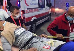 Son dakika haberleri   Bacağı kırılan Musleraya destek Volkan Demirel...