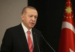 Cumhurbaşkanı Erdoğan, depremde şehit olan güvenlik korucusunun ailesine başsağlığı diledi