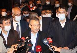 Cumhurbaşkanı Yardımcısı Fuat Oktay depreme ilişkin son durumu değerlendirdi