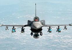 Son dakika... Görüntüler dikkat çekti F-16lar füzelerle donatıldı...