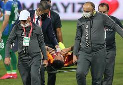 Son dakika Galatasaray haberleri   Galatasarayda Musleradan sonra Andone de sezonu kapattı