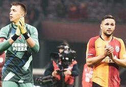 Galatasaraydan Muslera ve Andone paylaşımı: Kalplerimiz sizinle