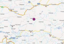 Deprem mi oldu 15 Haziran AFAD son depremler listesi Bingölde 5.6 büyüklüğünde deprem