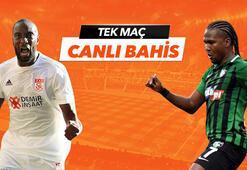 Sivasspor - Denizlispor maçı Tek Maç ve Canlı Bahis seçenekleriyle Misli.com'da