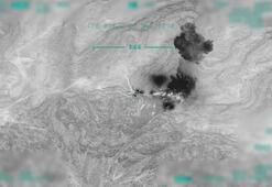 Son dakika: İşte Pençe-Kartal operasyonundan ilk görüntüler