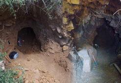 15 metrelik tünelde suçüstü yakalandılar