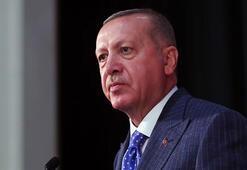 Cumhurbaşkanı Erdoğandan, depremde şehit olan güvenlik korucusunun ailesine taziye mesajı