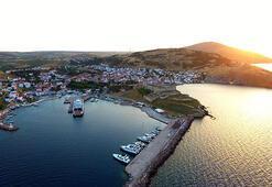 Turizm cenneti Bozcaadada, konaklama tesisleri açıldı