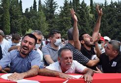 Kalp krizi geçiren uzman çavuş Adanada son yolculuğuna uğurlandı