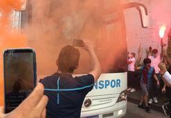 Trabzonspora coşkulu uğurlama