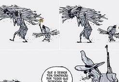 Karikatüristler eylemde