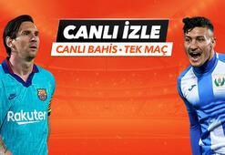 Barcelona - Leganes maçıTek Maç ve Canlı Bahis seçenekleriyle Misli.com'da