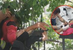 Son dakika... Kayısı toplayan 11 yaşındaki çocuğun eline demir korkuluk saplandı