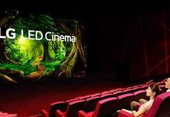 LG LED sinema ekranı ve Dolby Atmosa sahip ilk sinema salonu açıldı