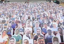 Galatasaraydan sağlık çalışanlarına jest