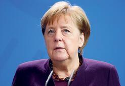 Merkel'le Libya görüşmesi