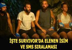 Survivorda elenen isim ve anlat bakalım eşleşmeleri açıklandı Survivor SMS oylaması BİRİNCİSİ kim