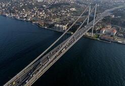 Son dakika Bu saatlere dikkat 15 Temmuz Şehitler Köprüsü 2 şeride düşecek...