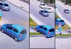 Son dakika... 9 yaşındaki İsmaile otomobil çarptı