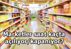Marketler saat kaçta açılıyor/kapanıyor A101, BİM, ŞOK, Migros, Carrefour çalışma saatleri