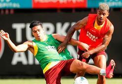 Galatasaraydan çift antrenman