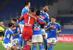 İtalya Kupası, Juventusu penaltılarla 4-2 yenen Napolinin